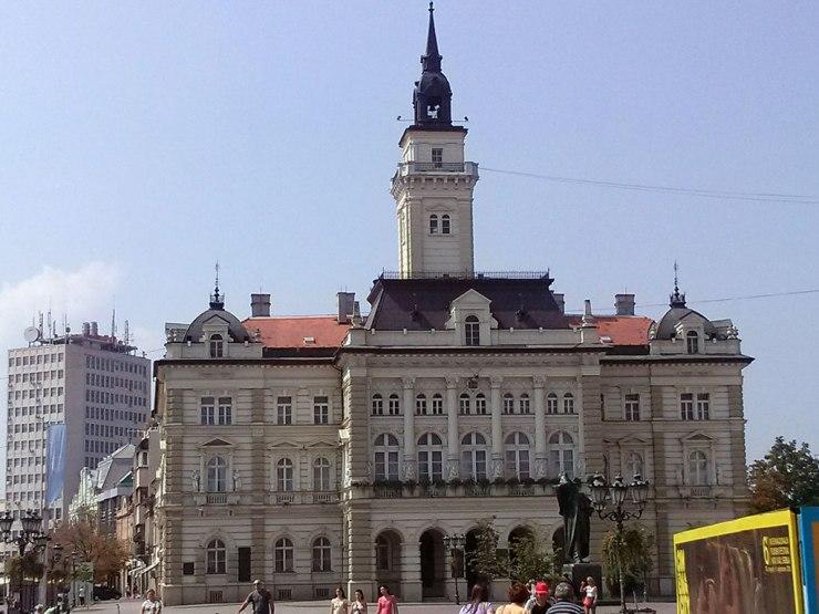 Gradska kuća, Trg Slobode