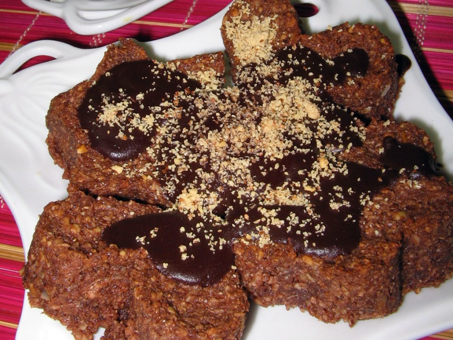 Chocolate Coconut (Almost Raw) Cookies