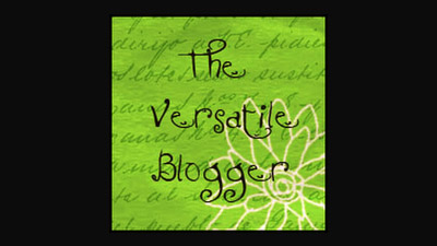 The Versatile Blogger Award Nomination