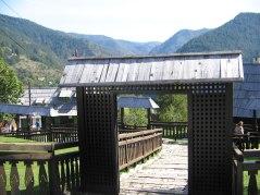Gate in Drvengrad