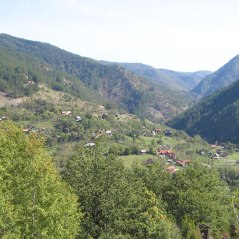 View from Drvengrad