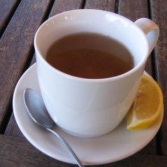 Cup of homemade tea