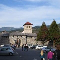 Main entrance of the Andricgrad