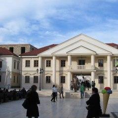 Main square of the Andricgrad