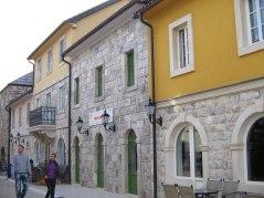 Main street in Andricgrad
