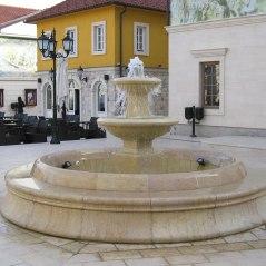 Fountain in the main square