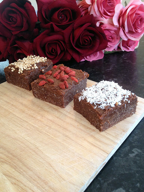 Raw Coconut Brownies With Nutty Chocolate Frosting, vegan, sugar free, dairy free