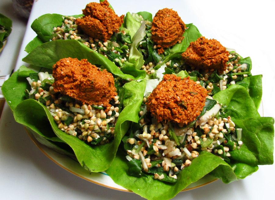 Walnut Lettuce Wraps
