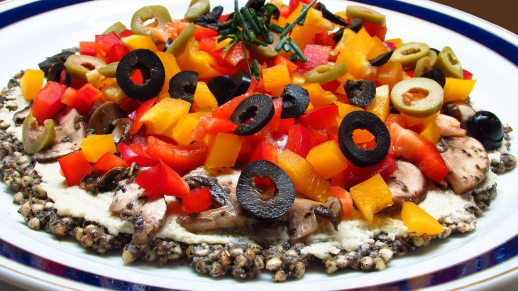 Raw Vegan No Dehydrator Pizza